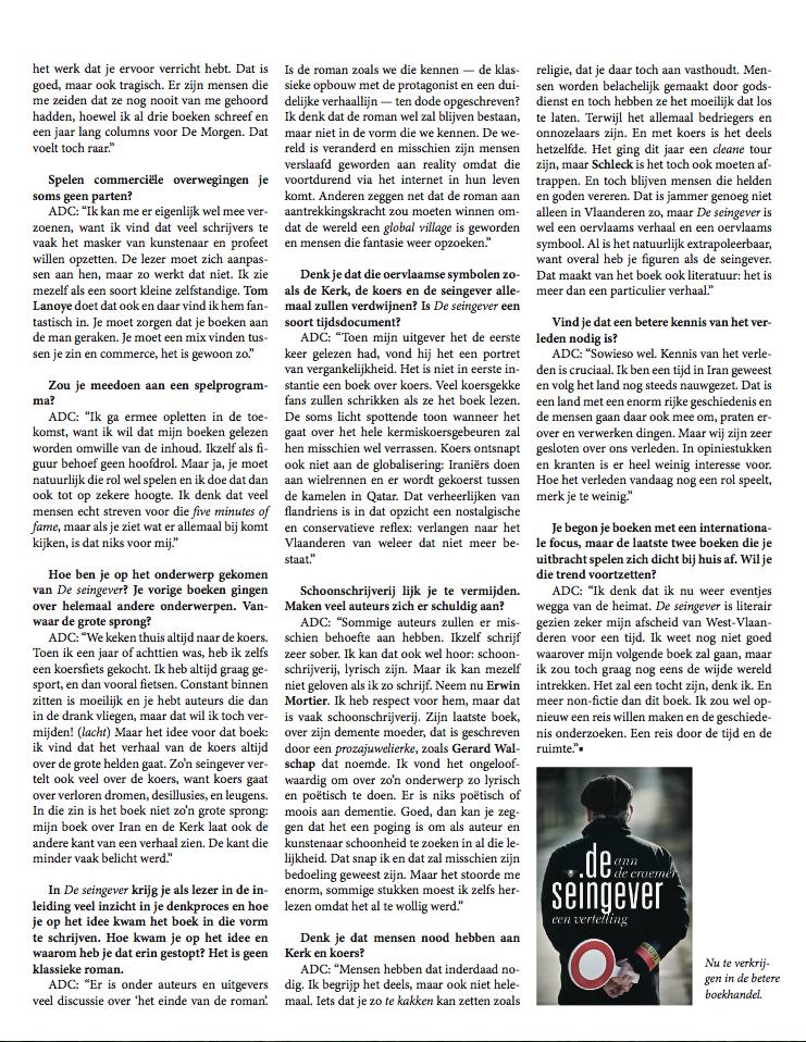 Interviews (4/6)