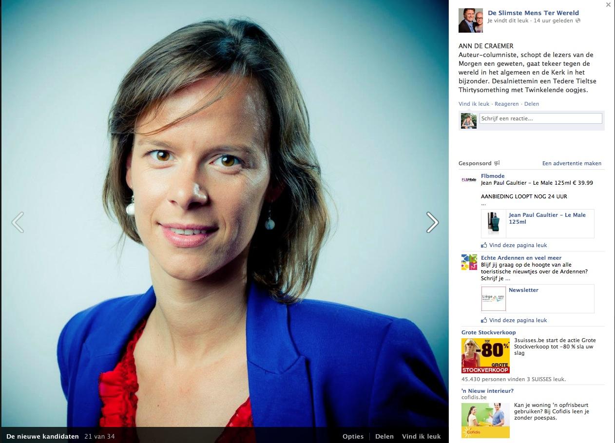 Wie Wordt De Slimste Mens Ter Wereld Ann De Craemer
